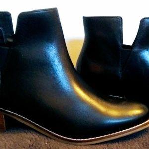 Black Booties Cole Haan Size 9